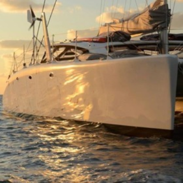 Opal Sunset Boat