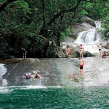 Visit Cairns Budget Waterfalls Adventure
