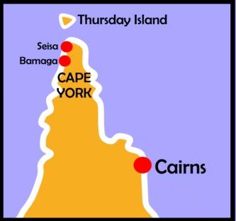 Map Of Australia Cape York Peninsula.Visit Cairns Cape York Tours